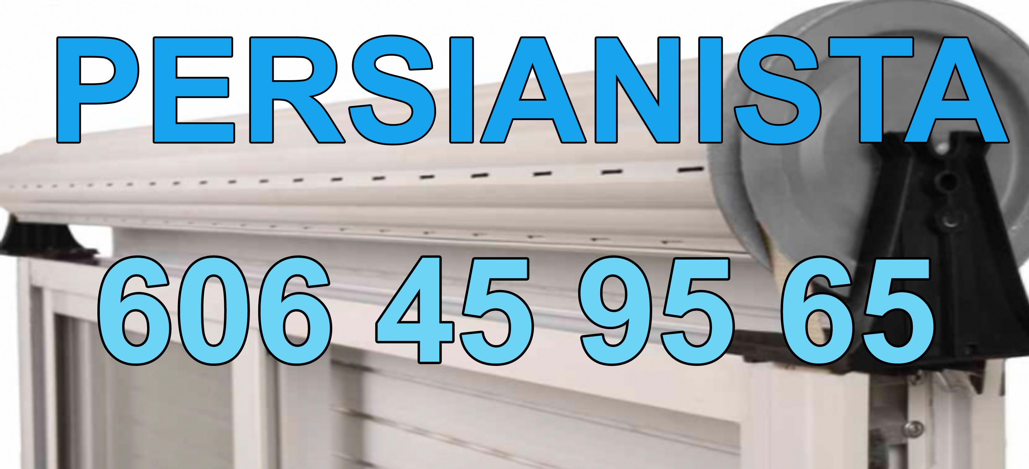 Reparaciones de persianas Rubió en domicilios y locales.